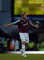 Photo: Olly Greenwood.<br />West Ham United v Blackburn Rovers. The Barclays Premiership. 29/10/2006. West Ham's Teddy Sheringham celebrates scoring