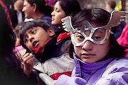 Children dressed for Halloween in New York City, photograph by Debbie Zimelman, Modiin, Israel