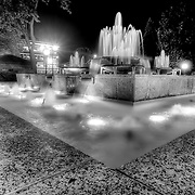 Fountain in front of the old Kansas City Star building at 18th and Grand Avenue, Kansas City, Missouri.