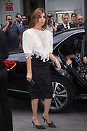 Paris Haute Couture - Givenchy - Arrivals - 1 July 2018