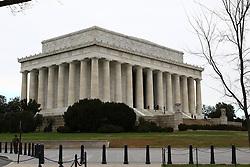 THEMENBILD - Lincoln Memorial. Reisebericht, aufgenommen am 12. Jannuar 2016 in Washington D.C. // Lincoln Memorial. Travelogue, Recorded January 12, 2016 in Washington DC. EXPA Pictures © 2016, PhotoCredit: EXPA/ Eibner-Pressefoto/ Hundt<br /> <br /> *****ATTENTION - OUT of GER*****