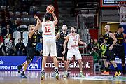DESCRIZIONE : Varese FIBA Eurocup 2015-16 Openjobmetis Varese Telenet Ostevia Ostende<br /> GIOCATORE : Luca Campani<br /> CATEGORIA : Tiro Tre Punti  Controcampo<br /> SQUADRA : Openjobmetis Varese<br /> EVENTO : FIBA Eurocup 2015-16<br /> GARA : Openjobmetis Varese - Telenet Ostevia Ostende<br /> DATA : 28/10/2015<br /> SPORT : Pallacanestro<br /> AUTORE : Agenzia Ciamillo-Castoria/M.Ozbot<br /> Galleria : FIBA Eurocup 2015-16 <br /> Fotonotizia: Varese FIBA Eurocup 2015-16 Openjobmetis Varese - Telenet Ostevia Ostende