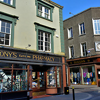 Stores on High Street in Kilkenny, Ireland<br />