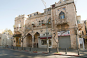 The German Colony in Jerusalem, Israel Founded by the German Templer movement who settled her and elsewhere in Israel in the late 19th century
