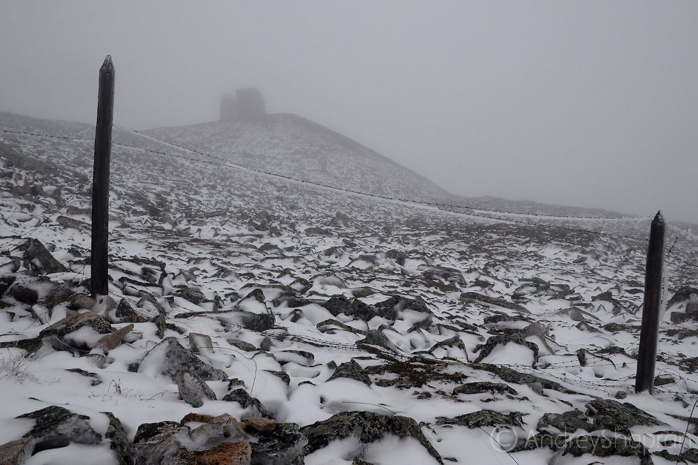 Remains of the Gulag branch near Pevek. Chukotka, Russia