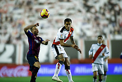 November 3, 2018 - Madrid, MADRID, SPAIN - Trejo of Rayo during the Spanish Championship, La Liga, football match between Rayo Vallecano and FC Barcelona on November 03th, 2018 at Estadio de Vallecas in Madrid, Spain. (Credit Image: © AFP7 via ZUMA Wire)