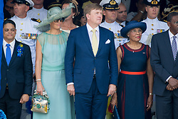King Willem-Alexander and Queen Maxima on day two of their two-day visit to Curacao on the occasion of Dia di Bandera. 02 Jul 2018 Pictured: King Willem-Alexander and Queen Maxima of the Netherlands. Photo credit: MEGA TheMegaAgency.com +1 888 505 6342