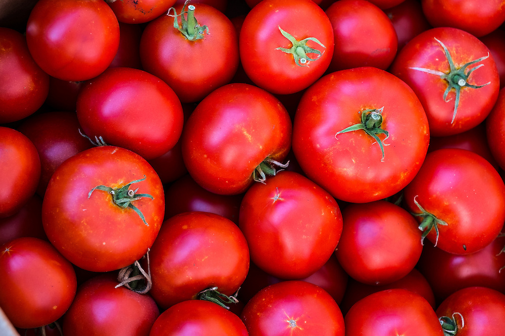 Tomatos at the Farmers Market | June 30, 2013