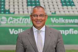 12.07.2011, Volkswagen Arena, Wolfsburg, GER, 1.FBL,  VfL Wolfsburg, Spielervorstellung im Bild  Felix Magath Trainer vom VfL Wolfsburg in der Saison 2011/2012 // during the player praesentation in Wolfsburg 2011/07/12.     EXPA Pictures © 2011, PhotoCredit: EXPA/ nph/  Rust       ****** out of GER / CRO  / BEL ******