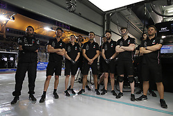 March 30, 2019 - Sakhir, Bahrain - Motorsports: FIA Formula One World Championship 2019, Grand Prix of Bahrain, ..Mechanic of Mercedes AMG Petronas Motorsport  (Credit Image: © Hoch Zwei via ZUMA Wire)
