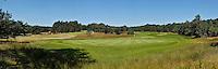 LEUSDEN - Panorama foto  hole 18 en 16. Golfclub De Hoge Kleij. COPYRIGHT KOEN SUYK