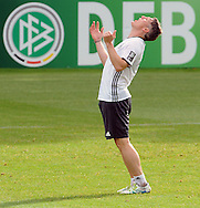 Sebastian Schweinsteiger of Germany pictured during training at Stadio Communale, Ascona<br /> Picture by EXPA Pictures/Focus Images Ltd 07814482222<br /> 31/05/2016<br /> ***UK &amp; IRELAND ONLY***<br /> EXPA-EIB-160531-0026.jpg