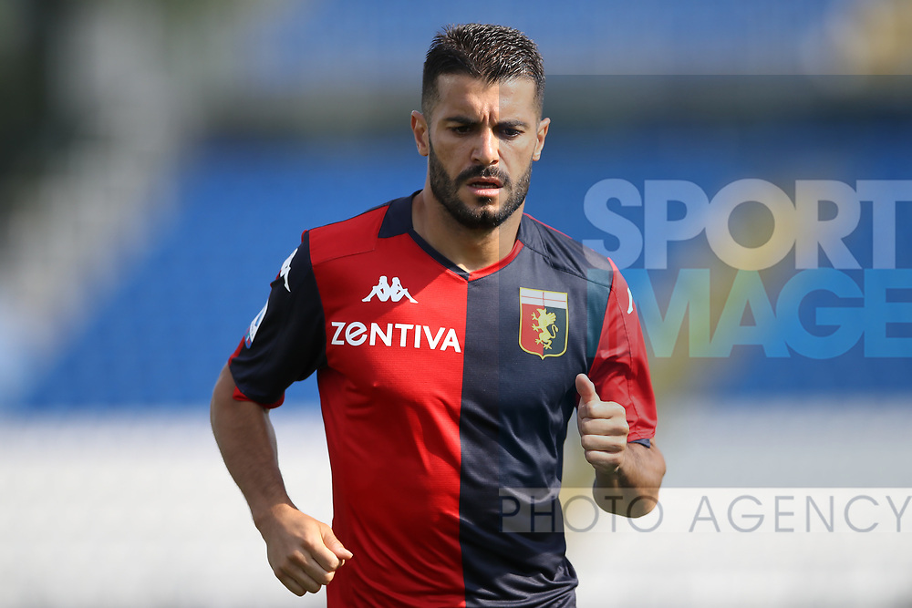 Genoa's Spanish striker Iago Falque during the Serie A match at Stadio Mario Rigamonti, Brescia. Picture date: 27th June 2020. Picture credit should read: Jonathan Moscrop/Sportimage