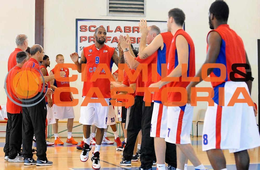 DESCRIZIONE : Scandiano (RE) Lega A 2013-14 Grissinbon Reggio Emilia PBC CSKA Moskow <br /> GIOCATORE : Aaron Jackson<br /> SQUADRA : PBC CSKA Moskow <br /> EVENTO : PRECampionato Lega A 2013-2014<br /> GARA :  Granarolo Virtus Bologna PBC CSKA Moskow<br /> DATA : 18/09/2013<br /> CATEGORIA : Tiro <br /> SPORT : Pallacanestro<br /> AUTORE : Agenzia Ciamillo-Castoria/A.Giberti<br /> Galleria : Lega Basket A 2013-2014<br /> Fotonotizia : Scandiano Lega A 2013-14 Grissinbon Reggio Emilia PBC CSKA Moskow  <br /> Predefinita :