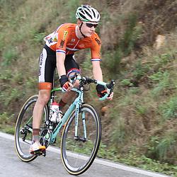 28-09-2014: Wielrennen: WK weg Elite mannen: Ponferrada <br /> WIELRENNEN PONFERRADA SPAIN ROAD RACE ELITE MEN<br /> Wilco Kelderman