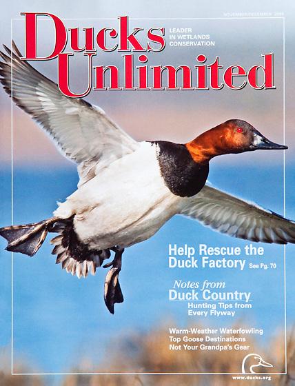 Ducks Unlimited, Nov-Dec 2008