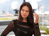 Actress Maria Isabel Lopez at the Ma'rosa film photo call at the 69th Cannes Film Festival Wednesday 18th May 2016, Cannes, France. Photography: Doreen Kennedy
