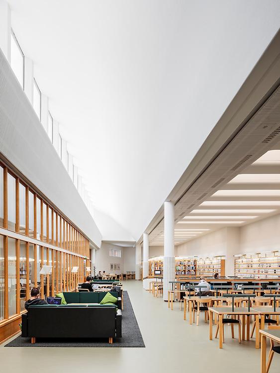 Tuomas Uusheimo: AALTO 20161103, Aalto-yliopiston Oppimiskeskus / Aalto University Learning Centre, Espoo, Finland