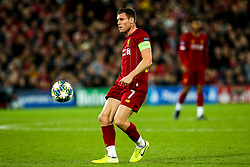 James Milner of Liverpool - Mandatory by-line: Robbie Stephenson/JMP - 02/10/2019 - FOOTBALL - Anfield - Liverpool, England - Liverpool v Red Bull Salzburg - UEFA Champions League Group Stage
