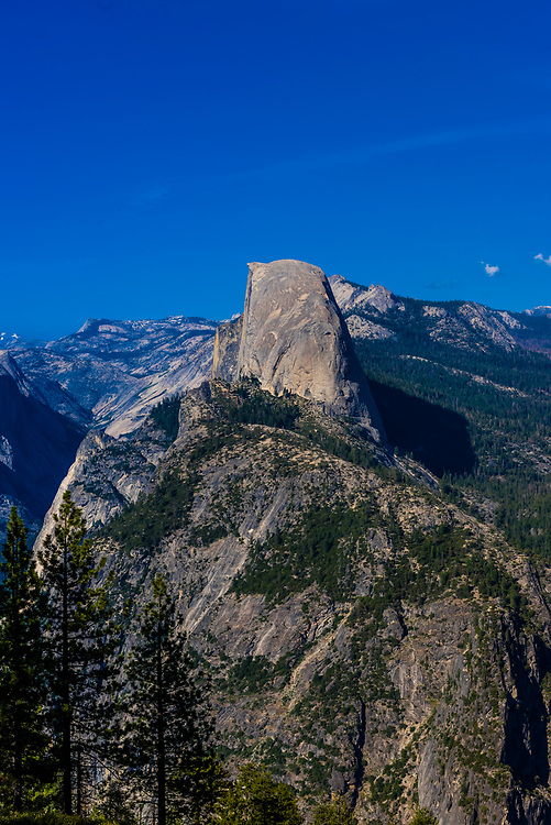 Half Dome, Yosemite National Park, California USA.