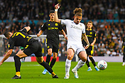 Leeds United midfielder Kalvin Phillips (23) in action during the EFL Sky Bet Championship match between Leeds United and Brentford at Elland Road, Leeds, England on 21 August 2019.