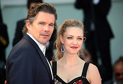 Ethan Hawke and Amanda Seyfried attend the 'First Reformed' red carpet  during the 74th Venice Film Festival in Venice, Italy, on August 31, 2017. (Photo by Matteo Chinellato/NurPhoto/Sipa USA)