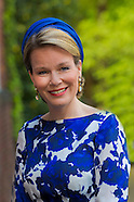 Queen Mathilde at the Belgium Embassy in The Hague, 20-05-2015