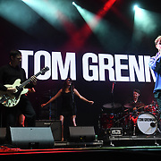 Tom Grennan at RiZE Festival 2018 at RiZE Festival 2018 at Hylands Park, Chelmsford on 17 August 2018, UK.