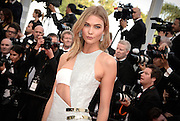 KARLIE KLOSS- OPENING THE 68th CANNES FILM FESTIVAL - RED CARPET ' HIGH HEAD '<br /> ©Exclusivepix Media