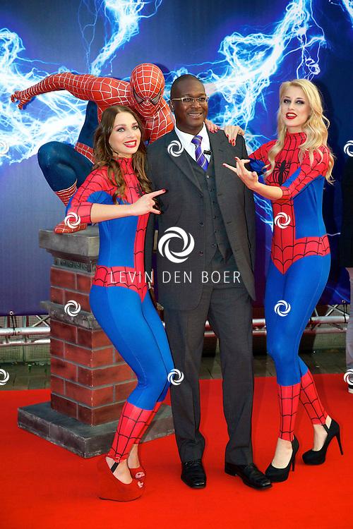 AMSTERDAM - Bij het Pathe ArenA Theater is de filmpremière van Spiderman II gehouden. Met hier op de foto  Winston Murzius. FOTO LEVIN DEN BOER - PERSFOTO.NU