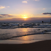 &quot;Peaceful Grand Haven Sunset&quot;<br /> <br /> Sunset in Grand Haven Michigan along the shores of Lake Michigan. Peaceful and calming hues!