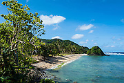 2 dollar beach on Tutuila island, American Samoa, South Pacific