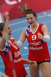 20190112 NED: Sliedrecht Sport - VC Sneek: Sliedrecht<br />Nienke Tromp (9) of VC Sneek<br />©2019-FotoHoogendoorn.nl / Pim Waslander