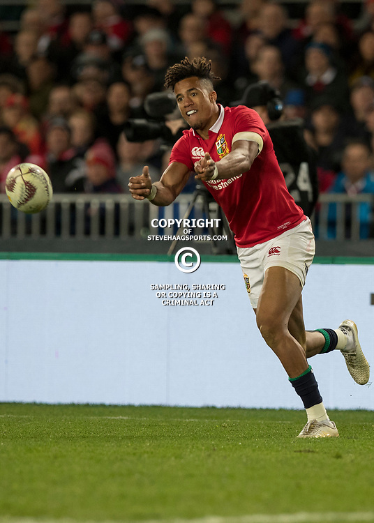 Anthony Watkins during game 7 of the British and Irish Lions 2017 Tour of New Zealand, the first Test match between  The All Blacks and British and Irish Lions, Eden Park, Auckland, Saturday 24th June 2017<br /> (Photo by Kevin Booth Steve Haag Sports)<br /> <br /> Images for social media must have consent from Steve Haag