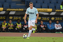 September 20, 2017 - Rome, Italy - Adam Marusic during the Italian Serie A football match S.S. Lazio vs S.S.C. Napoli at the Olympic Stadium in Rome, september on 21, 2017. (Credit Image: © Silvia Lore/NurPhoto via ZUMA Press)
