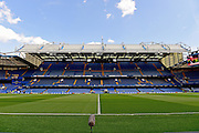 Stamford Bridge before the Barclays Premier League match between Chelsea and Leicester City at Stamford Bridge, London, England on 15 May 2016. Photo by Jon Bromley.