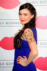 """Lulu Guinness Paint Project.<br /> Anna Skellern attends the """"Lulu Guinness paint project in collaboration with beautiful crime and their artist Joseph Steele"""" Held at the old sorting office, Oxford street,<br /> London, United Kingdom<br /> Thursday, 11th July 2013<br /> Picture by Chris  Joseph / i-Images"""