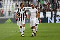 19.08.2017 - Torino - Serie A 2017/18 - 1a giornata  -  Juventus-Cagliari nella  foto: Daniele Rugani e Giorgio Chiellini