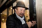 Paris, France. 11 Décembre 2018.<br /> Le cinéaste franco-cambodgien Rithy Panh