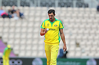 Cricket - 2019 ICC Cricket World Cup warm ups - Australia vs. Sri Lanka<br /> <br /> Mitchell Starc of Australia at the Hampshire Bowl Southampton England<br /> <br /> COLORSPORT/SHAUN BOGGUST