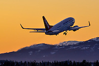 Early morning departure to Calgary at -30C