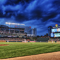 08 August 2012:  A 7 frame HDR image done at Camden Yards in Baltimore, MD. where the Baltimore Orioles defeated the Seattle Mariners, 9-2 to complete the sweep.