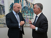 ADRIAN OLIVERO, IAN COLLINSON, Gibraltar as seen by five artists. private view hosted by the Chief Minister of Gibraltar. Art Bermondsey project Space. 24 October 2017