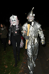 Jonathan Ross - Halloween party<br /> <br /> Ed Sheeran,Alan Carr,Joan Collins,Melanie Sykes,Holly Willoughby,Claudia Schiffer,Matthew Vaughn,Frank Skinner,Konnie Huq,Michael McIntyre,Keith Lemon,David Mitchell,John Bishop  <br />