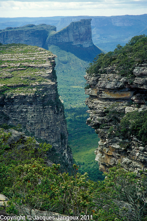 Tablelands of Chapada Diamantina, State of Bahia, Brazil, seen from Morro do Pai Inacio.