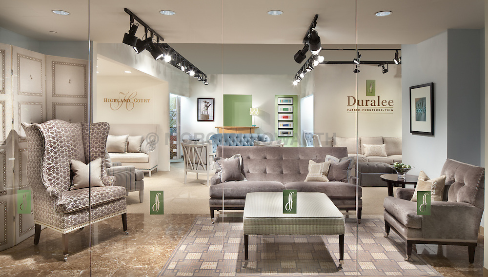 Duralee showroom at Washington DC Design Center