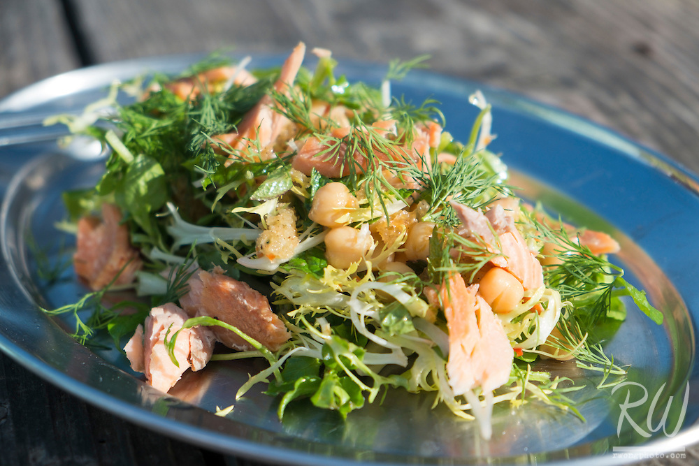 Smoked Trout Salad from Hog Island Oyster Company, Marshall, California