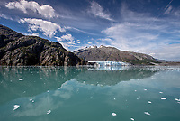Margerine Glacier in  Glacier Bay National Park and Preserve, Alaska.