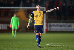 Aden Flint of Bristol City - Mandatory by-line: Matt McNulty/JMP - 17/01/2017 - FOOTBALL - Highbury Stadium - Fleetwood,  - Fleetwood Town v Bristol City - Emirates FA Cup Third Round Replay