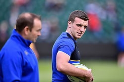 George Ford of Bath Rugby looks on during the pre-match warm-up - Mandatory byline: Patrick Khachfe/JMP - 07966 386802 - 17/10/2015 - RUGBY UNION - The Recreation Ground - Bath, England - Bath Rugby v Exeter Chiefs - Aviva Premiership.